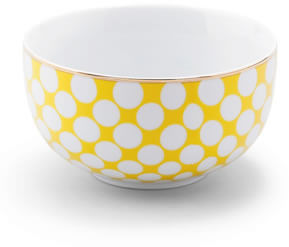 Yellow soup bowl